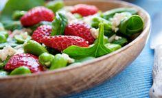 Ensalada de espinacas y fresas http://holabatahola.wordpress.com/2014/05/05/ensalada-de-espinacas-y-fresas/