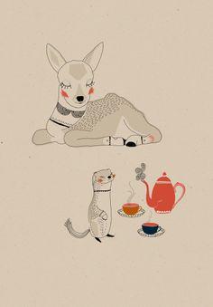 Illustratie van Swantje Hinrichsen