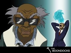 It's been awhile and I'm glad to do some work again. I know a lot have been waiting for me to do some more Boondocks wallpapers and I decided . The Boondocks: Stinkmeaner Doodle Art Drawing, Art Drawings, Aaron Mcgruder, Boondocks Drawings, Black Characters, Fictional Characters, Alien Tattoo, Black Love Art, Cartoon People