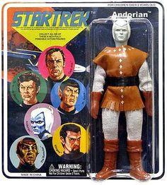 Diamond Select Star Trek Cloth Retro Series 2 Figure Andorian: Amazon.co.uk: Toys & Games