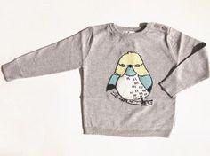 little PAUL & JOE HYRITISE intersia sweater グレー 2Y/4Y - 子供服通販、ベビー服通販のセレクトショップcuccu