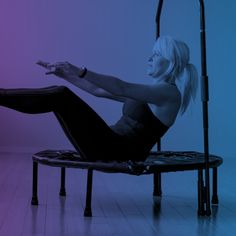 Why work out, when you can Play In!  Whole body workout for women...  See how one simple exercise can help with: Stomach, thighs, digestion/elimination, bladder control, weight loss, stress reduction, muscle toning, shoulder, knee, hip and back issues, even stubborn cellulite!  #homegym #fitness #fitnessideas #health #wellness #love #cellercise #beautiful #motivation #exercise #women #cellulite #abs Mini Trampoline Workout, Easy Workouts, Workout Exercises, Whole Body Workouts, Rebounding, Cellulite, Fit Women, Thighs, Stress