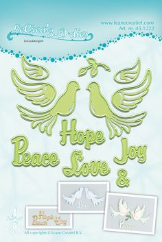 New Die Cuts from Leane Creatief now available at Crafts U Love http://www.craftsulove.co.uk/Leanecreatief.htm