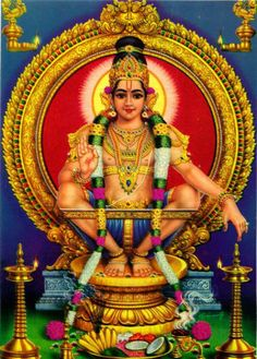 Lord Aayapan is a Hindu deity who is fused with both Shiva and Vishnu, wearing a unique jewel around his neck, hence named Manikandan, It means Lord Murugan Wallpapers, Sai Baba Wallpapers, Lord Balaji, Shiva Art, Shiva Shakti, Hindu Deities, Beautiful Posters, God Pictures, Indian Gods
