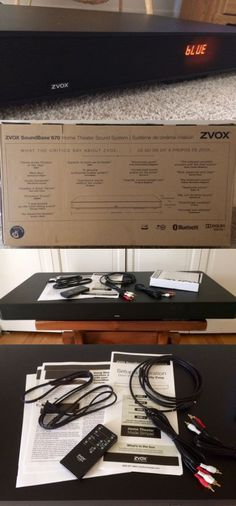 Home Theater Systems: Zvox Platinum Series Soundbase 670 Home Theater System, Open Box New -> BUY IT NOW ONLY: $250 on eBay!