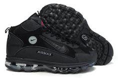 Mens All Black Nike Griffey Fury Shoes 92695 0faf8030e