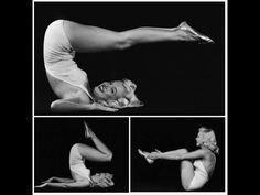 Marilyn Monroe doing what looks like the Roll Over.