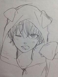 New Manga Art Sketches Boy Ideas Anime Drawings Sketches, Cool Art Drawings, Anime Sketch, Manga Drawing, Manga Art, Manga Anime, Anime Art, Drawing Base, Drawing Ideas