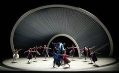 New York City Ballet set design by Santiago Calatrava