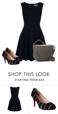 """""""Untitled #6706"""" by tailichuns ❤ liked on Polyvore featuring Oasis, Christian Louboutin and Liebeskind"""