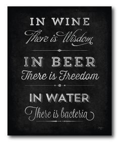 Another great find on #zulily! 'In Wine There Is Wisdom' Wrapped Canvas by COURTSIDE MARKET #zulilyfinds