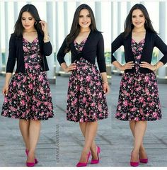 Lindo e romântico Modest Outfits, Skirt Outfits, Classy Outfits, Beautiful Outfits, Dress Skirt, Casual Dresses, Casual Outfits, Fashion Dresses, Cute Outfits
