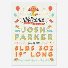 Birth Announcements by Love vs Design via Oh So Beautiful Paper (2)