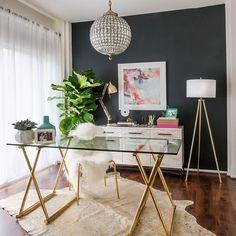 Delight small home office and craft room ideas #homeoffice #office #homedecor #officeinteriordesign #smallhomeoffice