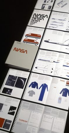 NASA Graphic Standards Manual - 1976 - Danne & Blackburn. inner science geek and graphic design geek are totally having a geekout right now.