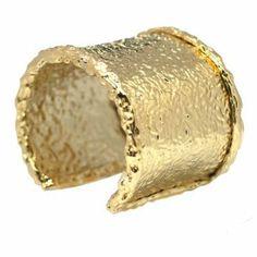 De Buman 14k Goldplated Cuff Bracelet De Buman. $151.55