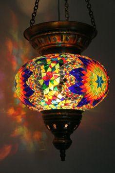 EXTRA-LARGE-TURKISH-MOROCCAN-MOSAIC-HANGING-LAMP-SHADE-PENDANT-LANTERN