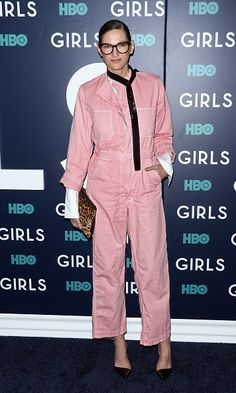 Jenna Lyons attends the the New York premiere of the sixth and final season of 'Girls' at Alice Tully Hall Lincoln Center on February 2 2017 in New...
