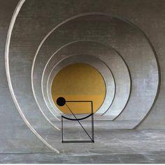 Seconda Chair by Mario Botta for Alias - De Stijl Minimalist Architecture, Minimalist Design, Interior Architecture, Interior Design, Architecture Student, Architecture Details, Mario Botta, Home Decor Styles, Chair Design