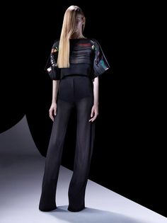 Mugler's Resort 2013 Collection Is Japanese Inspired With Futuristic Appeal