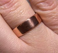 My first selfmade ring...Copper