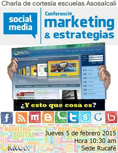 Charla gratis sobre Marketing Online. Conferencia de cortesía AsosalCali #Salsa
