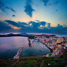 Isla de Procida, Italia