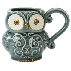 16-oz Owl Mug