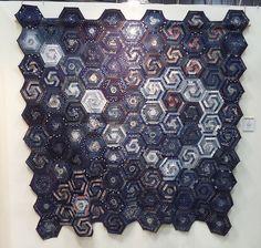 Hexagon Quilt by Rika Sakaguchi | Flickr - Photo Sharing!