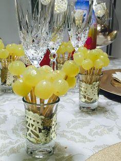 El color de la noche de Fin de Año.... Verde uvas!!! www.blancoroto.es