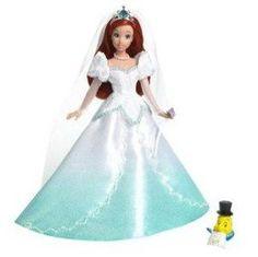Disney Princess Fairytale Wedding Ariel Barbie