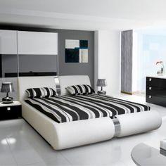 lit rond lismore parsemait d 39 un contour lumineux pour une. Black Bedroom Furniture Sets. Home Design Ideas