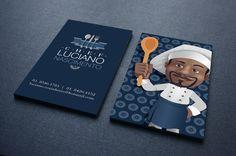 Cliente: Chef Luciano Nascimento     Peça: Cartão de Visita