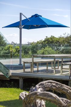 Cantilever Side Post Umbrellas Perfect Pool Spa Shade Solution The Eclipse