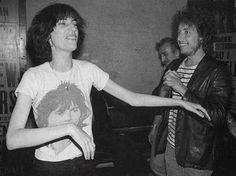 Patti Smith y Dylan