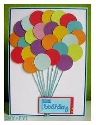 Bildergebnis für birthday card circle punch