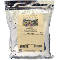 Starwest Botanicals, Органическая ламинария в порошке, 1 фунт (453,6 г) - iHerb.com