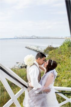 Allison & Mario   Chesapeake Bay Beach Club Wedding   Living Radiant Photography   Beautiful September Wedding   Sapphire & Blush Wedding   Pops of Plum Floral Design