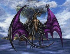 Final Fantasy IX - Bahamut (Iifa Tree) by on DeviantArt Final Fantasy Ix, Fantasy Art, Medieval, Ultimate Dragon, Dragon's Lair, Dragon Artwork, Video Game Art, Finals, Beast