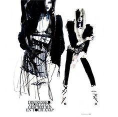vosgesparis: raw + minimalistic {fashion art by Petra Lunenburg}