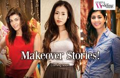 3 lovely brides-to-be...Homring, Archana & Pooja! Watch them get fabulous makeovers and transform into gorgeous brides! Stay tuned for all the action!  #Makeover #fashion #style #bride #models #designer #Makeup
