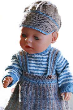 """puppen stricken anleitung - """"Alltagskleidung"""" für meine Puppe"""
