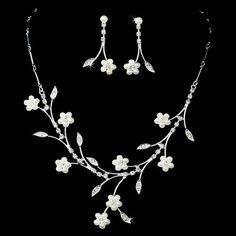 Bridal Wedding Jewelry Set Floral Vine Pearl Rhinestone Accessoriesforever,http://www.amazon.com/dp/B007MRQQP2/ref=cm_sw_r_pi_dp_uWW.rb1VEM1M8RJB