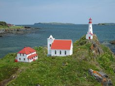 Community replica in Ship Cove (northern Newfoundland Island) | Newfoundland and Labrador Adventure, CANADA | images by © Paul Illsley