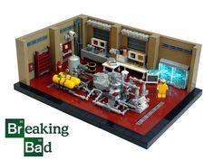 Tread lightly, LEGO Breaking Bad Superlab