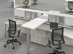 office furniture – My WordPress Website White Office Furniture, Business Furniture, Cool Furniture, Furniture Ads, Men's Home Offices, Home Office Desks, Office Interior Design, Office Interiors, Office Designs