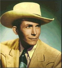 Hank Williams Sr. country music great and Grand Ole Oprey star.