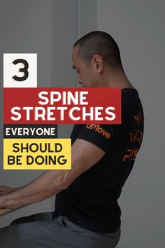 Good Stretches, Stretching, Lower Back Stiffness, Low Back Pain Relief, Office Exercise, Stretch Routine, Sitting Posture, When You Were Young, Pilates Studio