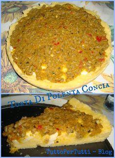 TORTA DI POLENTA CONCIA