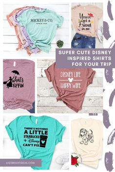 This might just be the ultimate collection of Disney Shirt Ideas you can buy or DIY. We have matching family shirts, Star Wars designs and cute shirts for Christmas vacations too! Matching Disney Shirts, Disney Shirts For Family, Disney Family, Family Shirts, Star Wars Design, Disney World Planning, Happy Wife, Disney Tips, Ultimate Collection